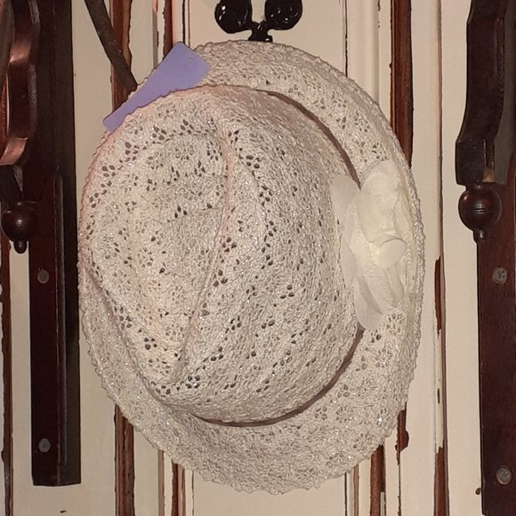Claire's Fedora Style Hat NWT